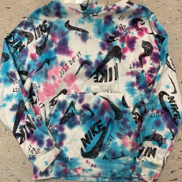 Nike tie dye hoodie